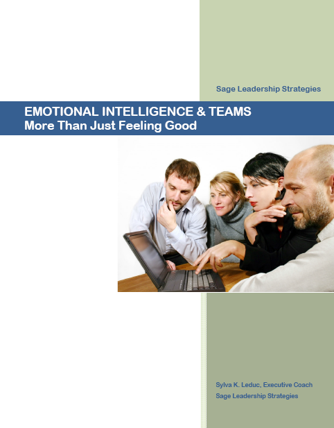 ei for leaders The most effective leaders are all alike in one crucial way: they all have a high degree of what has come to be known as emotional intelligence.